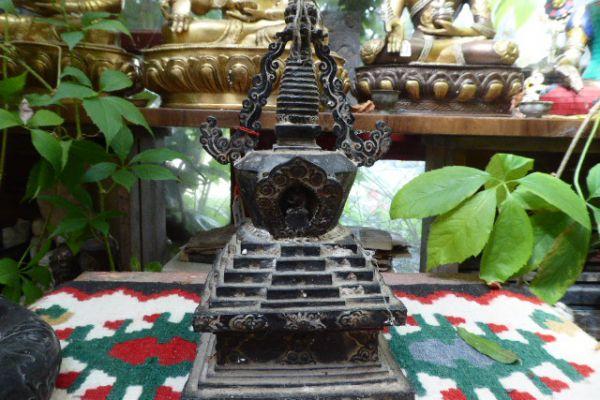 Stupa - verlorene Form aus Nepal