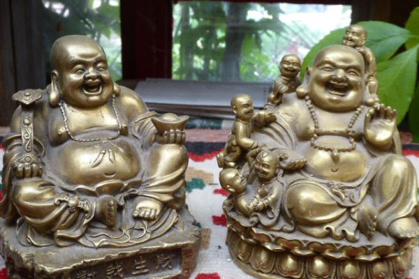 Hotai - Messingfigur aus China