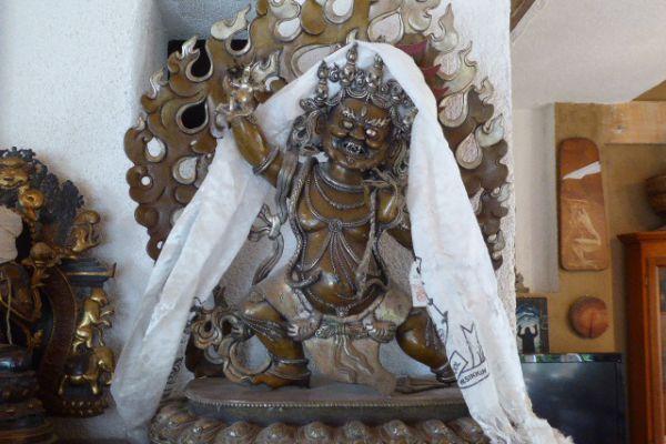 Bairava - Shakjabronze aus Nepal