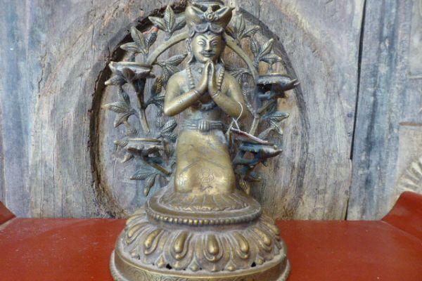 König - verlorene Form aus Nepal