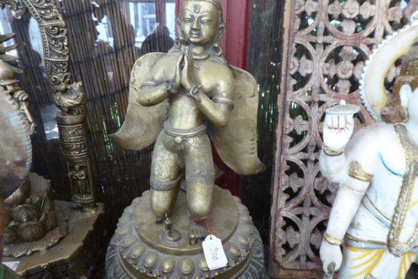 Garuda - Messinguss aus Nepal