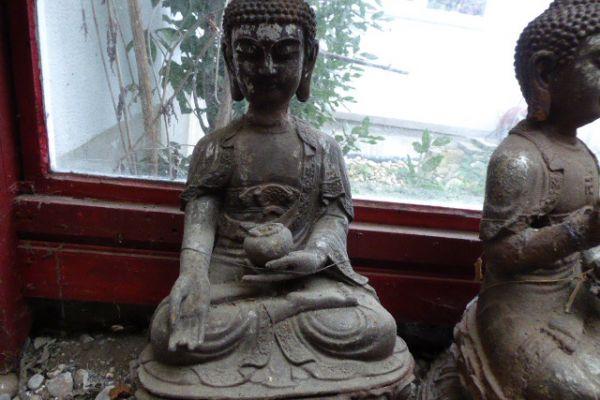 Buddha Eisen Mongolei -Asiatica Foth